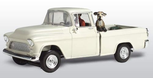 N Woodland Scenics AS5321 Pick-up mit Hund