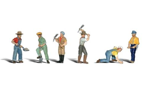 "0 Woodland Scenics A2723 Figuren-Set ""Track Workers"""