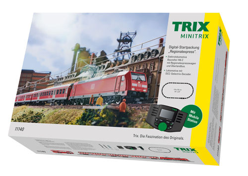 "Minitrix N 11140 Digital-Startset ""Regional-Express"" DCC Sound"