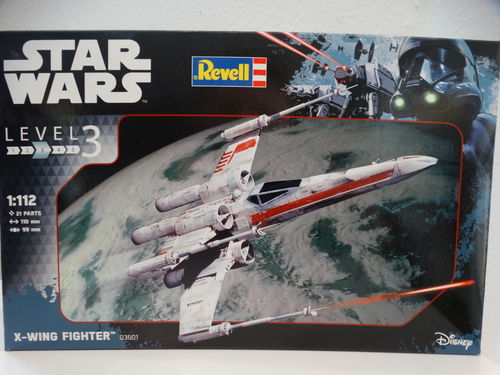 "1/241 Revell 03601 Bausatz X-Wing Fighter ""Star Wars"""