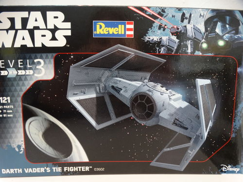 "1/121 Revell 03602 Bausatz Darth Vader´s Tie Fighter ""Star Wars"""