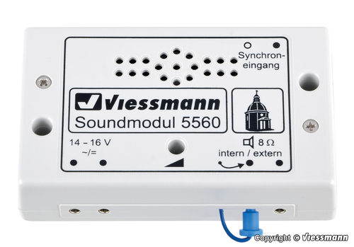 "Viessmann 5560 Soundmodul ""Kirchenglocken"""